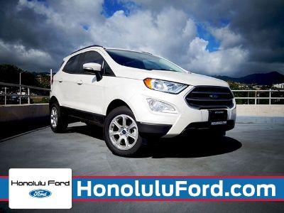 2018 Ford EcoSport SE (WHITE PLATINUM METALLIC TRI-COAT)