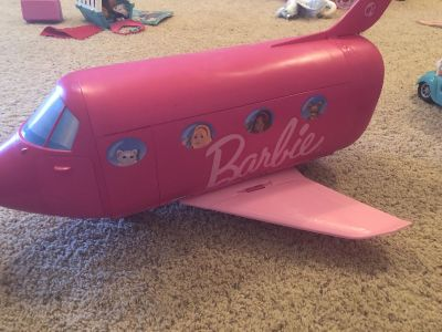 Barbie Jet and accessories