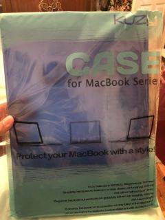 Hard shell case for MacBook Air 13 brand new. Still has the plastic cover on.