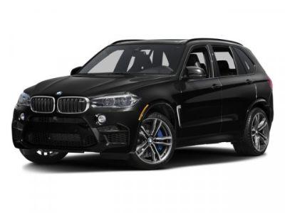 2016 BMW X5 M 4DR AWD (BLACK)