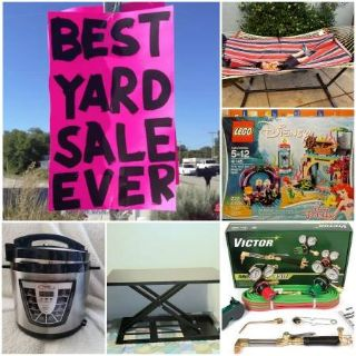 FREE COFFEE- Huge Yard Sale