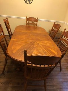 Dino g Table & 6 Chairs