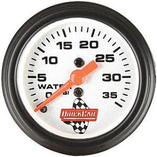 Buy QuickCar Racing 611-6008 Water Pressure Gauge motorcycle in Delaware, Ohio, United States, for US $35.95