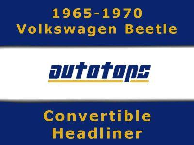 Sell 1965-1970 VW Volkswagen Beetle Convertible top HEADLINER HEAD LINER motorcycle in Shamokin, Pennsylvania, US, for US $175.00