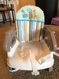 Toddler Deluxe comfort folding booster seat - New