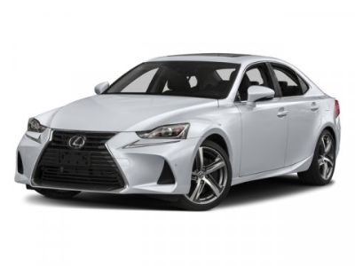 2018 Lexus IS IS (White)