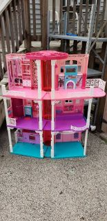 Barbie 3 story Dream house