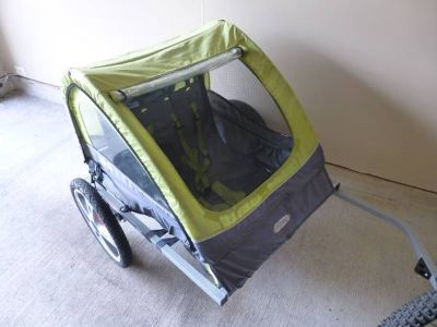 In Step Bicycle Trailer