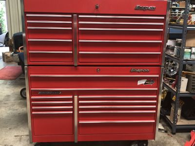 Snap on Krl 722 with top box