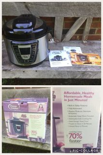 Power Cooker Electric Pressure Cooker/Instant Pot, barely used **READ FULL DESCRIPTION BELOW