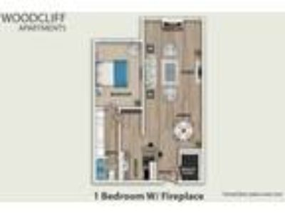 Woodcliff - One BR W/ Fireplace