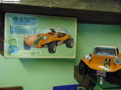 SEARS and ROEBUCK BOX MEYERS MANX DUNE BUGGY TOY