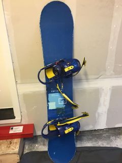 Snowboard, Carry Bag, Boots