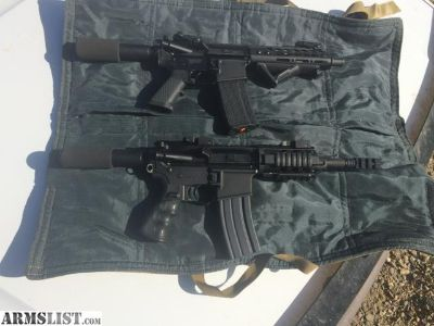 "For Sale: 7.5"" AR pistols"