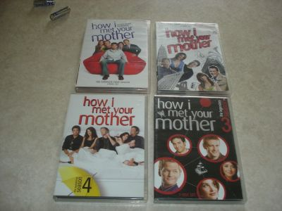 how I met your mother season 1-4