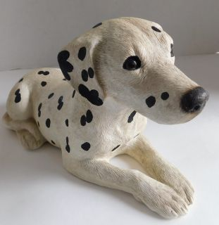 Vintage Hand-Painted and Hand Sand-Cast Dalmation