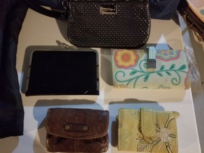All clutches and wallets (Fossil)
