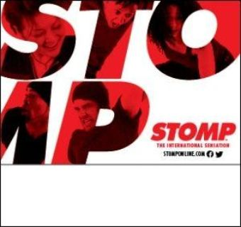 4 BOX SEAT TICKETS FOR STOMP AT PEORIA CIVIC CENTER ON WEDNESDAY