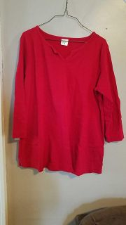 3/4 sleeve large maternity top