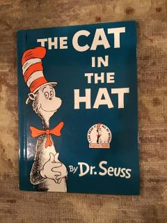 Dr. Seuss - The Cat in the Hat hardcover in great shape
