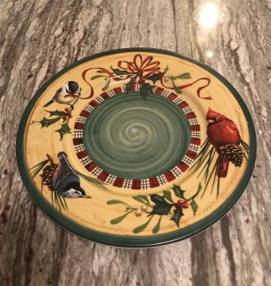 Lenox Winter Greetings Charger!