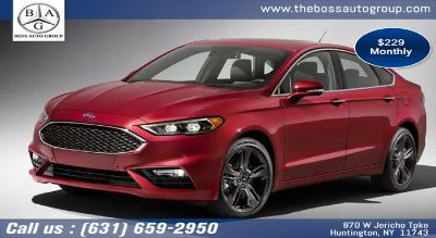 2019 Ford Fusion 4dr Sdn SEL (Red Candy Metallic Tinted)