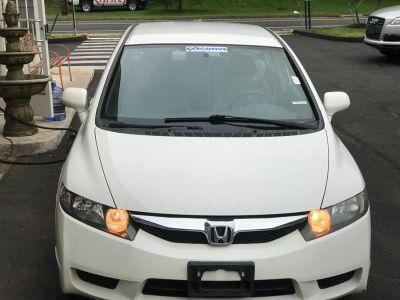 2010 Honda Civic LX (Taffeta White)
