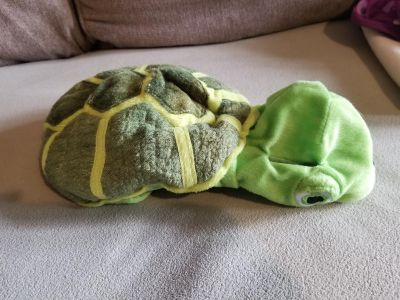 Size small dog turtle costume