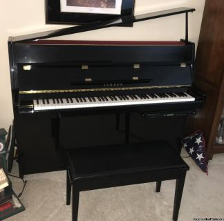 Yamaha Disklaviar Upright Piano MX80A