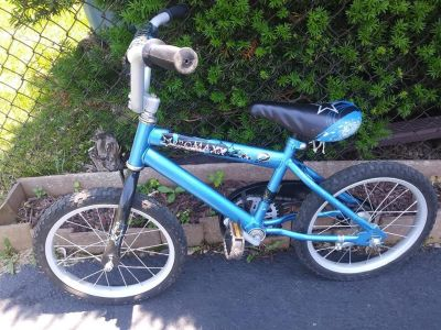 16 inch Boys Blue Pro Max with Training Wheels