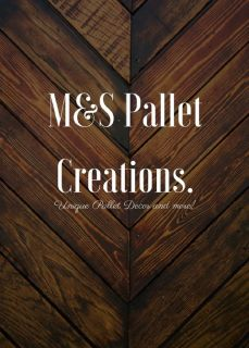 Pallet Decor and Signs.