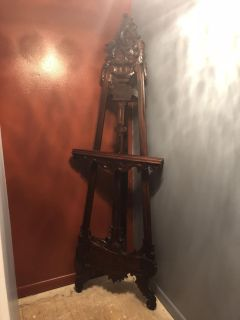 Beautiful Wood Easel for your favorite painting/Photo