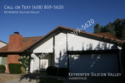 Large 4 bed 2.5 bath in Alamden Valley San Jose with beautiful backyard and top schools!