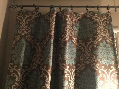 Drapes or curtains 3 Panels 54 in X84 in. From Pier ONE