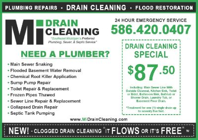 Commercial Sewer & Drain Cleaning Service - Hydrojetting