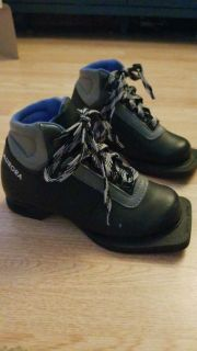 Kids x country ski boots