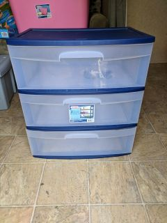 3 drawer cart with wheels