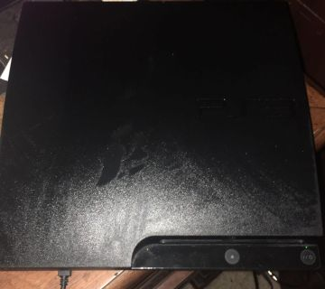 PS3 console and power supply - no controls 75.00 OBO