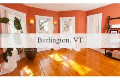 Beautiful, large, updated, historic home in downtown Burlington. Washer/Dryer Hookups!