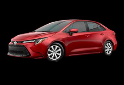 2020 Toyota Corolla LE (Barcelona Red Metallic)