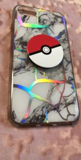 iPhone 6/6s case with pop socket