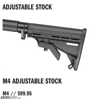 For Sale/Trade: MechTech M4 Telescoping Stock