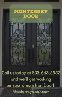 Iron Doors,Double or Single