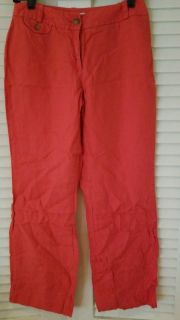 Red linen size 4p
