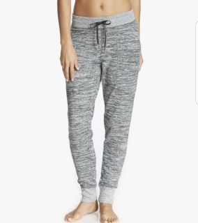 Ladies Marled Knit Sweater Lounge Pants