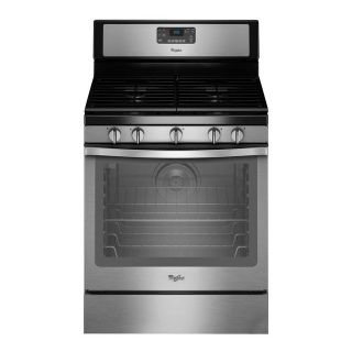 Black Friday Special NOW : Whirlpool Stainless Gas Range WFG540H0ES