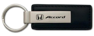 Find Honda Accord Black Leather Keychain / Key Fob Engraved in USA Genuine motorcycle in San Tan Valley, Arizona, US, for US $14.61