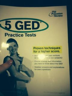 The Princeton Review5 GED Practice Tests.