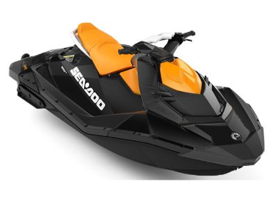 2018 Sea-Doo SPARK 3up 900 H.O. ACE iBR & Convenience Package Plus 3 Person Watercraft Lakeport, CA