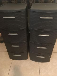 4 Drawer weave tower Expresso